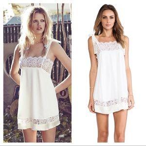 For Love and Lemons Bo Peep mini dress